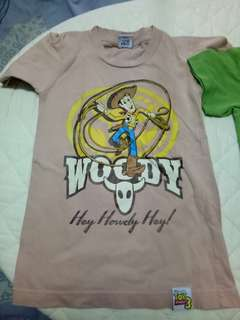 Toy story tshirts (for boys)