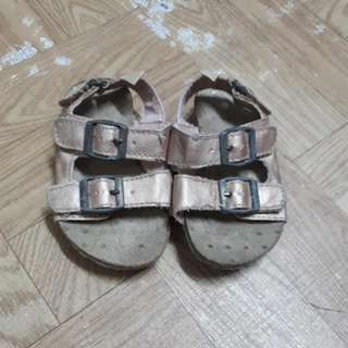 Oshkosh Birks Inspired Rosegold Sandals