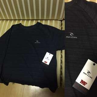 Rip Curl Mick Fanning Black Long sleeve Shirt