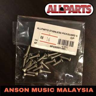 All parts GS-0001-005 Pack of 20 Stainless Pickguard Screws