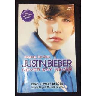 Justin Bieber : Never Say Never (FREE NOTEBOOK)