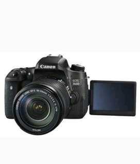 Kredit kamera canon eos 760D