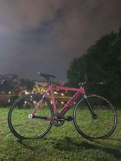 Fixed gear colossi lowpro (Hot Pink)