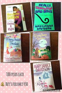SALE! Mary Janice Davidson