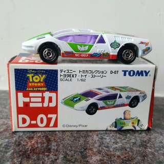 Tomica TOMY DISNEY D-07 Buzz Light Year 巴斯光年