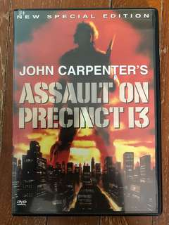 Assault on Precinct 13 (1976) R1 DVD