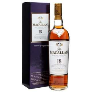 Macallan 18 Years Single Malt Scotch Whisky - Sherry Oak(1995) 麥卡倫18年單一純麥威士忌 - 雪梨桶(1995)