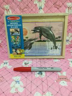 FREE NCR Delivery - Melissa and Doug 4 Puzzles in a Box