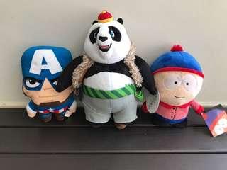 Brand New Plush Toys