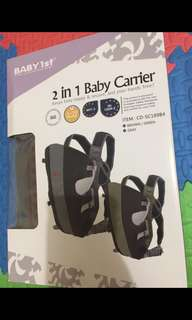 Baby 1st 2 in 1 Baby carrier