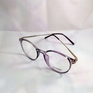 Light Purple Sliver Glasses Frame (14cm X 5cm)