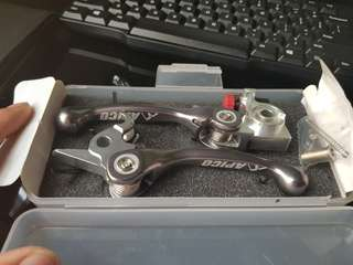 Apico pivot brake & clutch lever ktm SX250/300 06-13 SX-F250/350 11-13