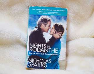 REPRICED! Nights in Rodanthe Nicholas Sparks