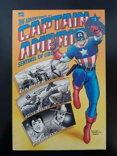 The Adventures of Captain America Book 2 & 3