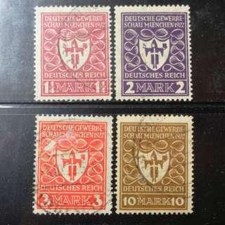 [lapyip1230] 德意志帝國 1922年 慕尼克博覽會 VFU