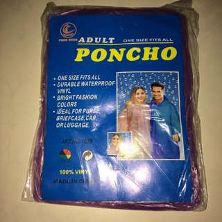 CLEARANCE: Disposable Poncho