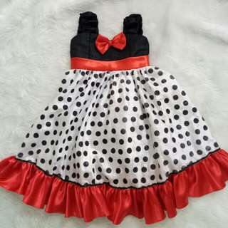 Minnie mouse inspired gown
