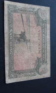 Vet Nam. Old note.