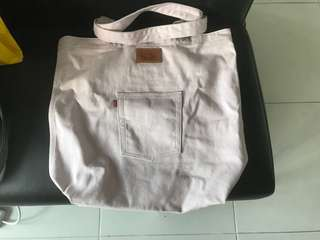 Brand New Levis Pale Pink Tote Bag