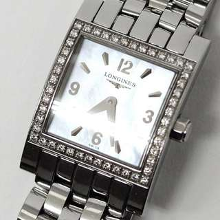 LONGINES L5 166 0 Dolce Vita Bezel Diamond Watch Silver Women's  (SHIP FROM JAPAN)