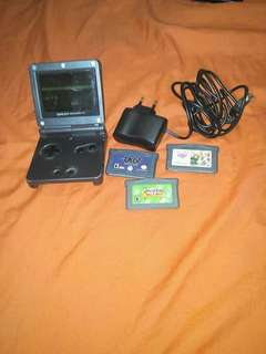 Gameboy Advance SP Lighter AGS 101 with free games