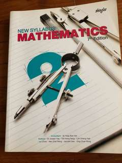 New Syllabus Mathematics 7th Edition Sec 2