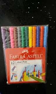 Faber Castell 12 Color Pens