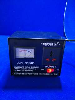 AC Automatic Voltage regulator (Transformer) @$50 each @ A2/2