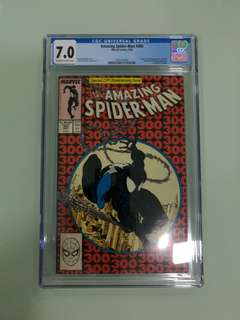 Amazing Spiderman #300, CGC 7.0