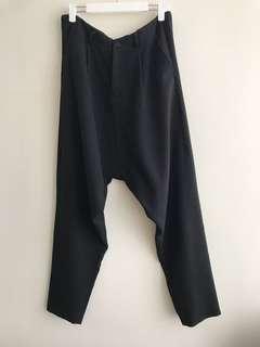 Avant-garde Drop crotch pants 46-54 (s-xxl) made to order