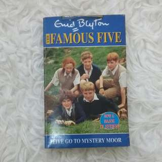 [Ed Bhs Inggris] Enid Blyton Famous Five : Five Go To Mystery Moor