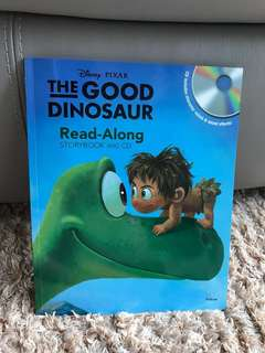 The good dinosaur- read along storybook and CD