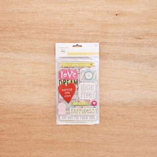 Project Life Chipboard Stickers