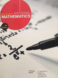 Shinglee Additional Mathematics 9th Edition