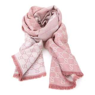 [Authentic & Brand New] GUCCI women scarf shawl GG