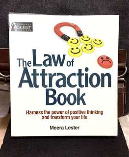 《New Book Condition + How To Make Your Dream A Reality》Meera Lester - THE LAW OF ATTRACTION BOOK : Harness The Power Of Positive Thinking And Transform Your Life