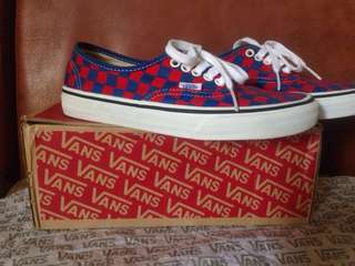 Vans Checker blue/red Original