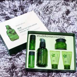 Innisfree green tea seed serum special kit