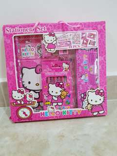 BNIB Hello Kitty Stationery Set