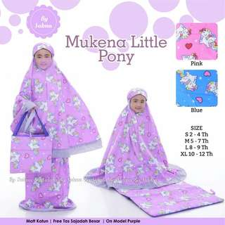 Mukena little pony