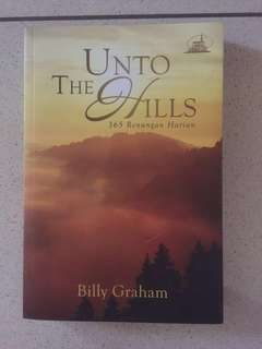 Buku 365 Renungan Harian Unto The Hills by Billy Graham