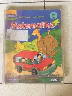 Buku Pelajaran Sekolah Matematika Anak Kelas 3 Tiga SD Sekolah Dasar
