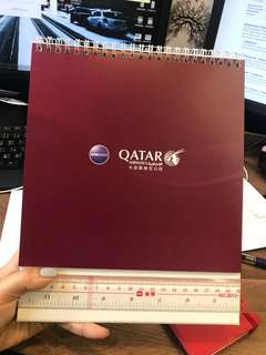 [飛機迷注意] Qatar 卡塔爾 2018 月曆
