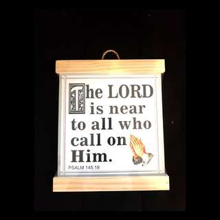 ON SALE: New Wooden Religious Wall Decor (Holy)