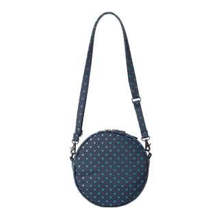 Head Porter Heart Pattern Circle Bag