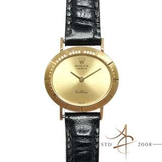 Rolex Cellini Ladies 18K Gold Vintage Winding Watch (Year 1973)