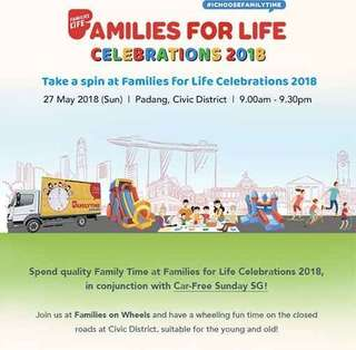 Families for life event