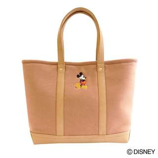 Japan Disney Accommode Mickey Mouse Tote Bag