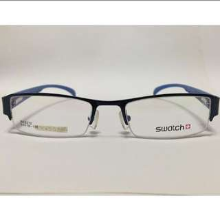 [SALE] SWATCH HALF FRAME PRESCRIPTION SPECTACLES / WEAR FOR FASHION