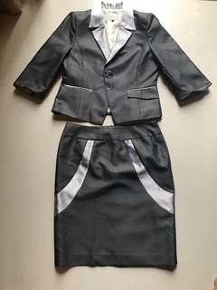 Office Jacket & Skirt